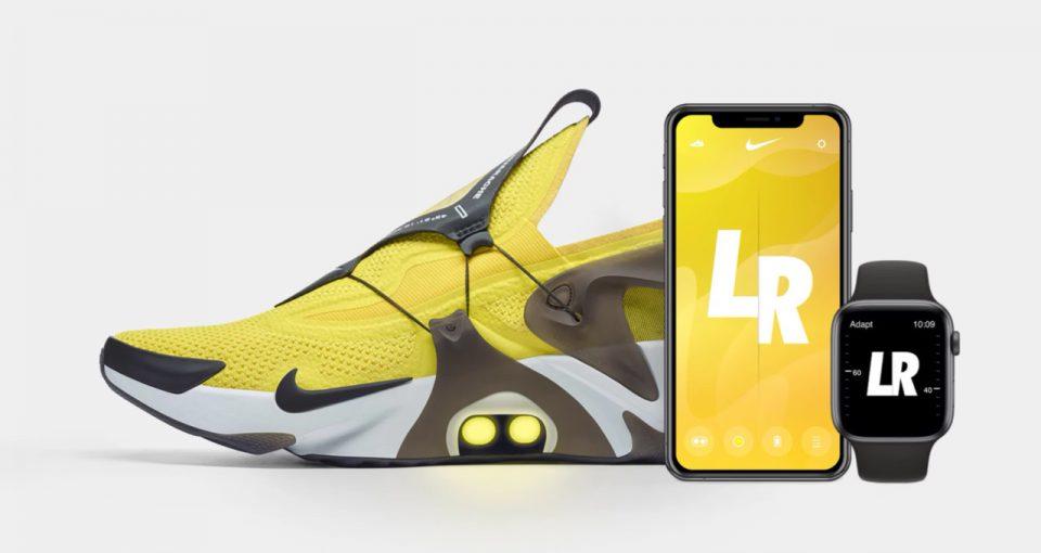 Nike Adapt Huarache: l'iconica scarpa sportiva si controlla